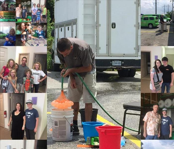 Comraderie and Our Company Cookout at SERVPRO of Hampton