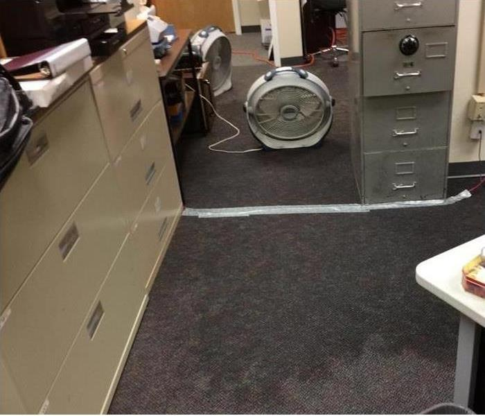 Office Bathroom Flood