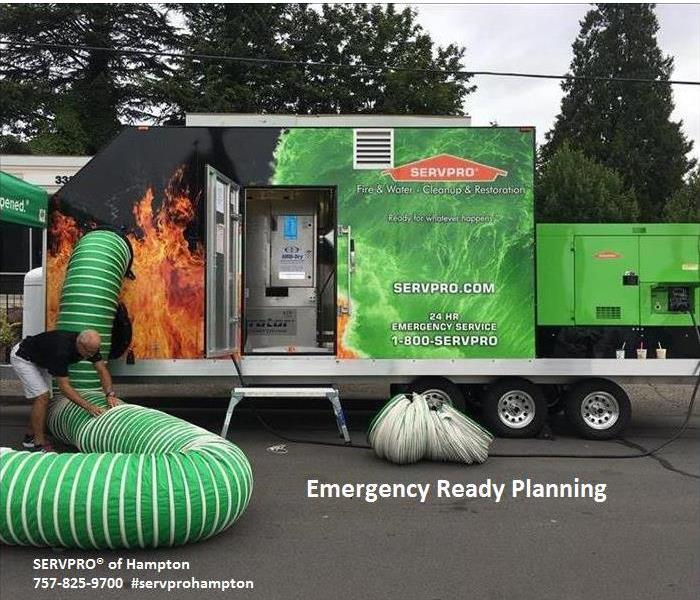Commercial Emergency Preparedness from SERVPRO® of Hampton